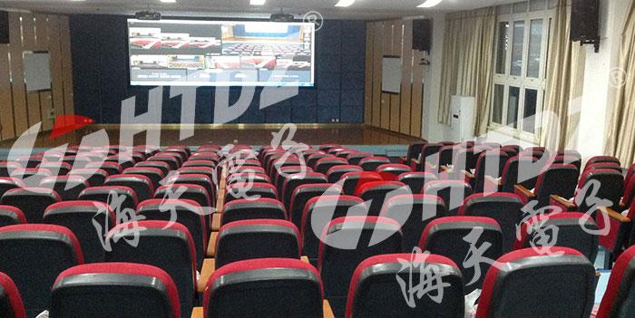 国内案例-河南许昌学院多媒体厅