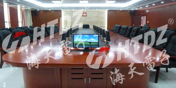 国内案例-钦州中级法院审委会议室