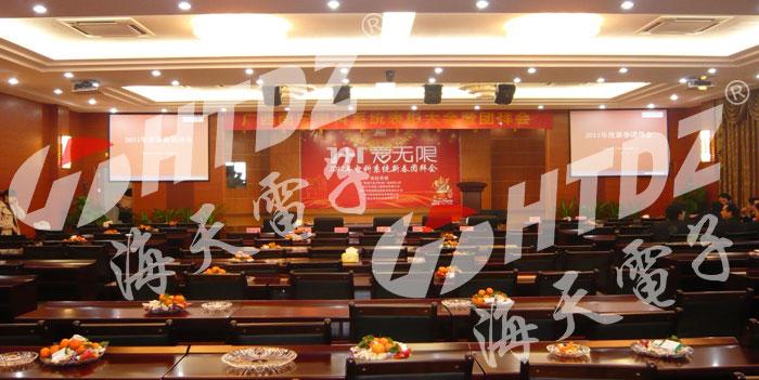 国内案例-广西南宁电子科技广场新闻发布厅